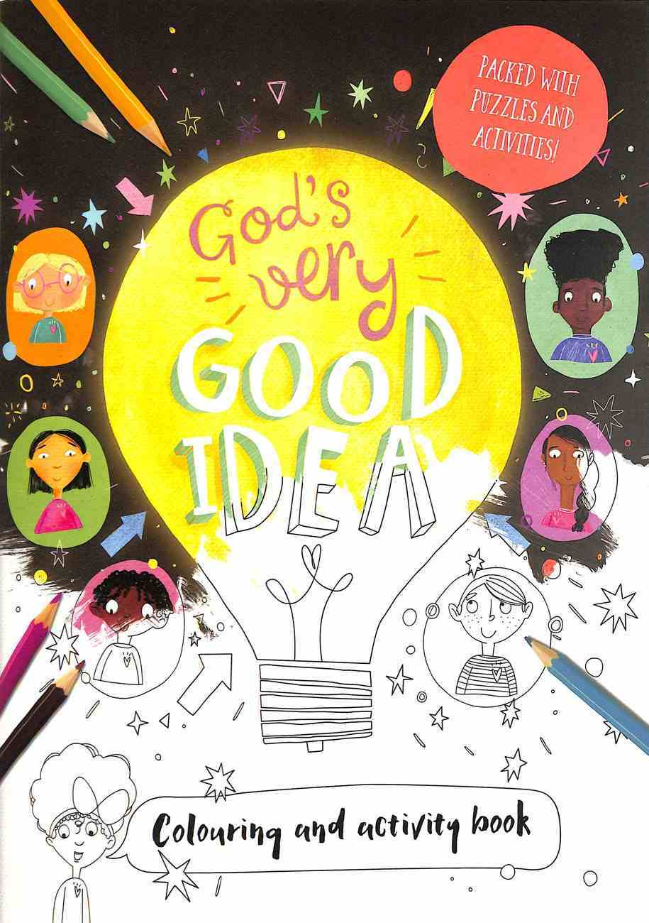 God's Very Good Idea (Colouring And Activity Book) Paperback