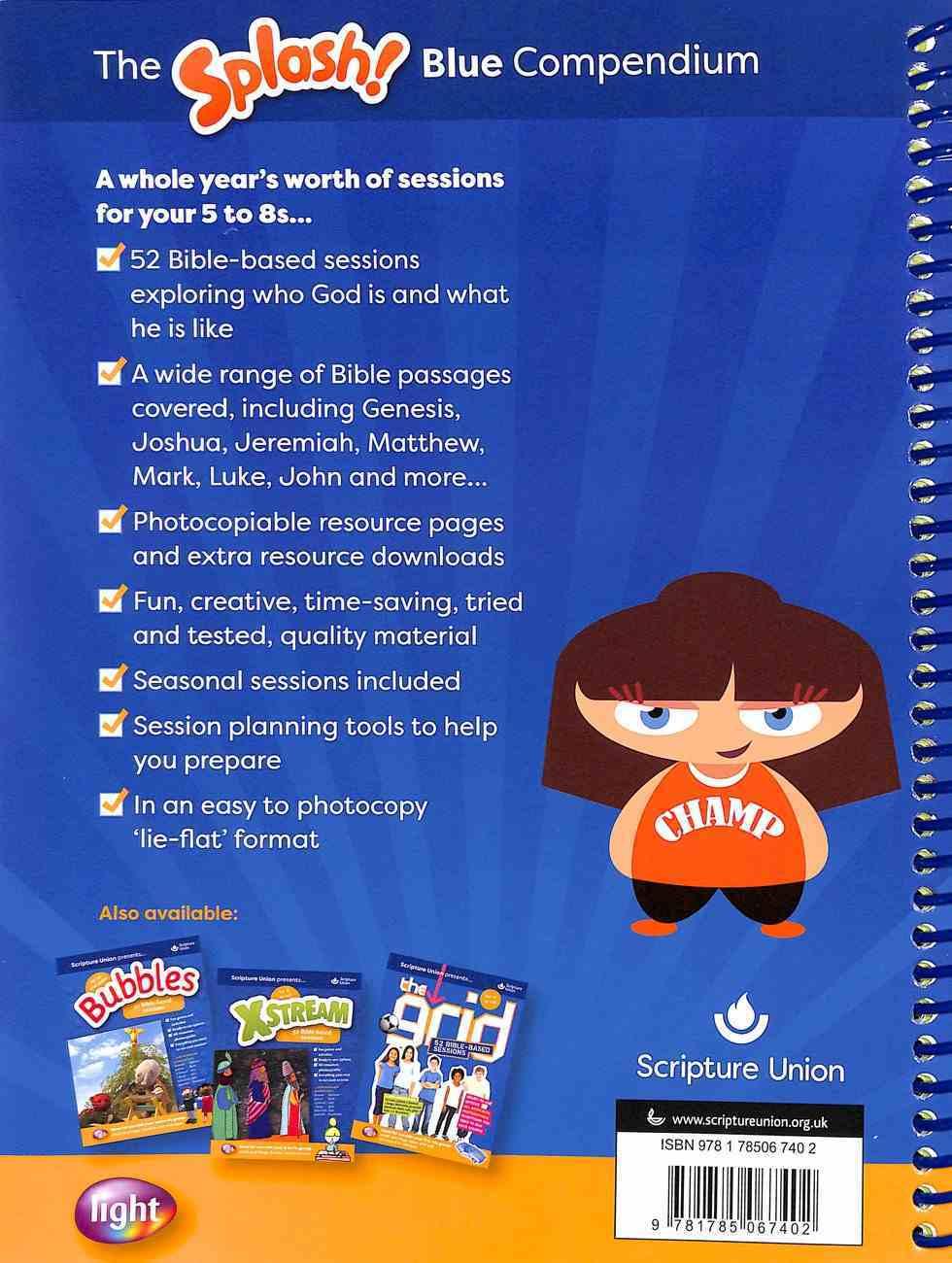 Light: Splash Blue Compendium (5-8 Yrs) Spiral