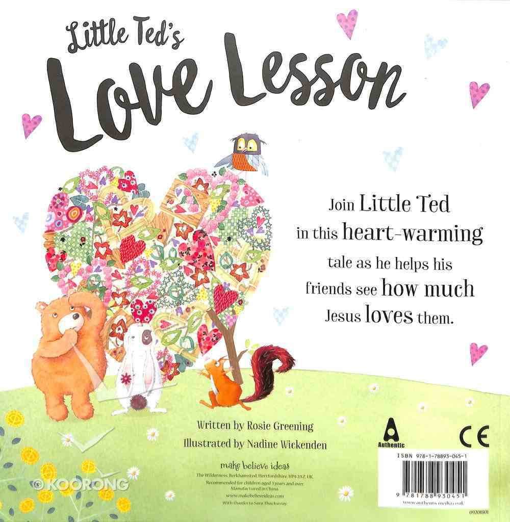 Little Ted's Love Lesson Paperback