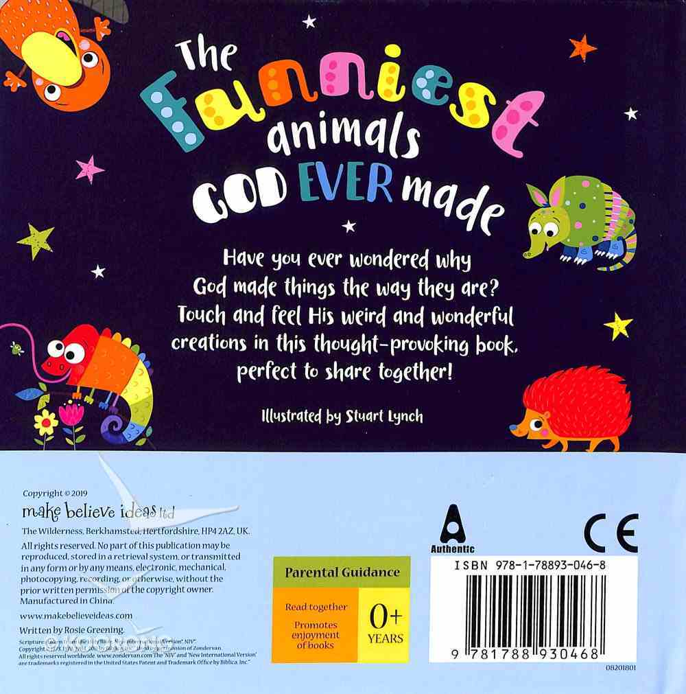 The Funniest Animals God Ever Made Board Book