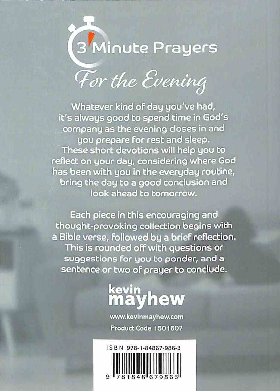 3-Minute Prayers For the Evening Paperback