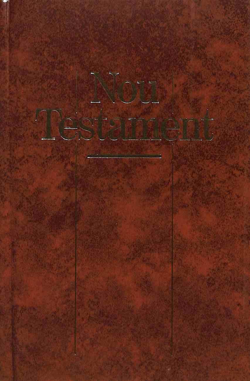 Catalan New Testament Brown Tan (Black Letter Edition) (For Spain France Andorra) Hardback
