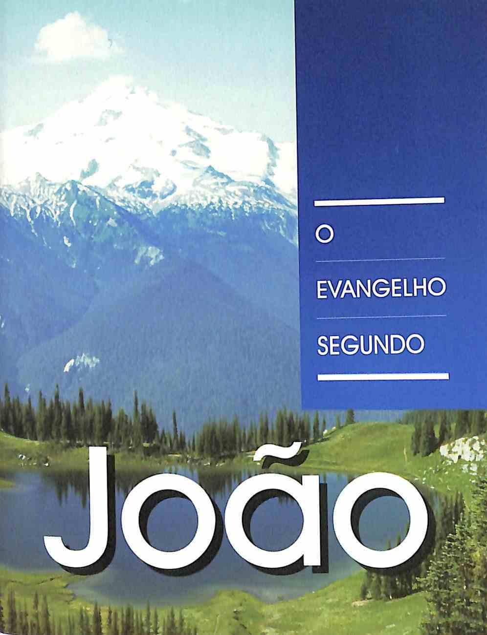 Portuguese Almedia Revised Gospel According to John (Black Letter Edition) Paperback
