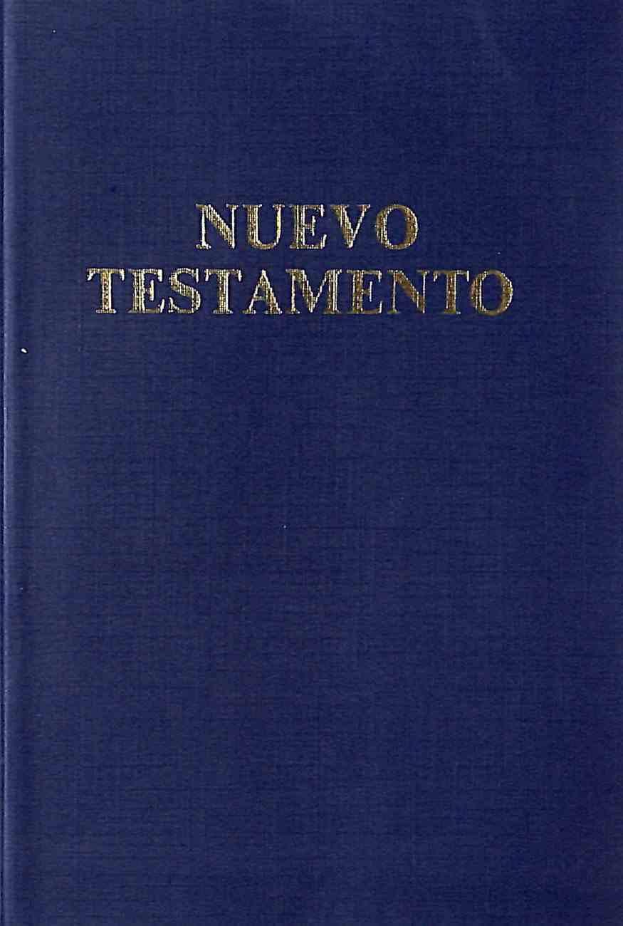 Rvr Spanish New Testament Psalms and Proverbs Blue Vinyl