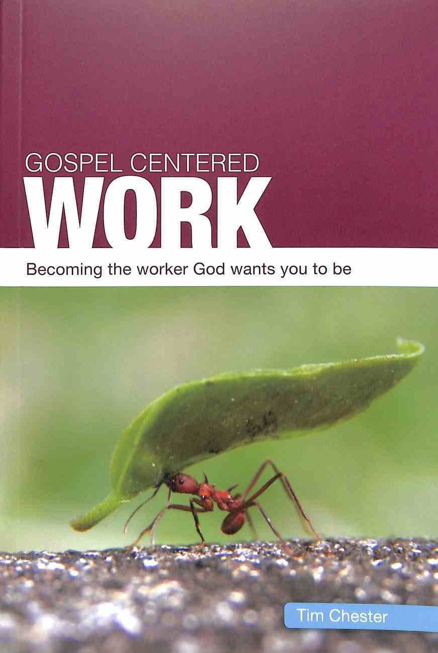 Gospel-Centered Work: Becoming the Worker God Wants You to Be (Gospel Centred Series) Paperback