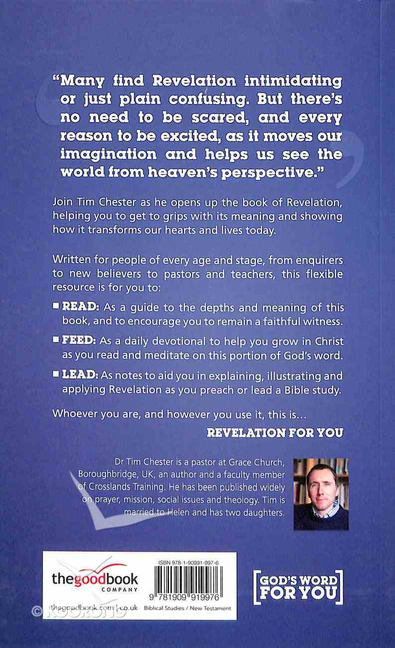Revelation For You: Seeing History From Heaven's Perspective (God's Word For You Series) Paperback