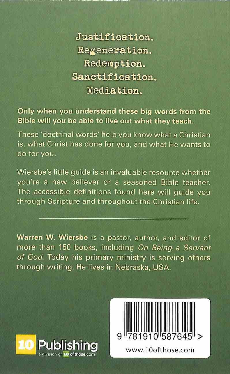 Little Book of Big Words Paperback