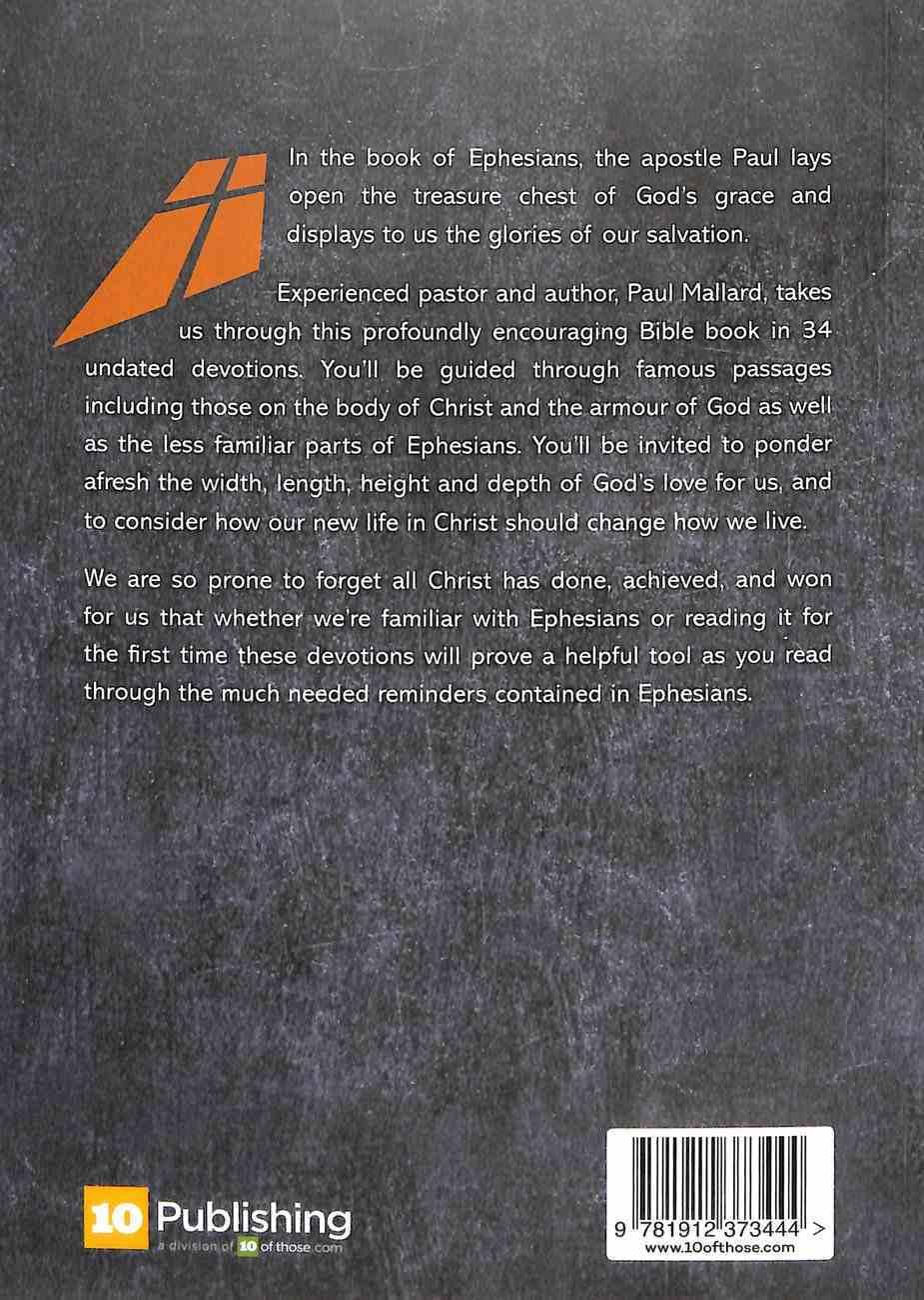Ephesians: His Glorious Riches:34 Undated Devotions Paperback