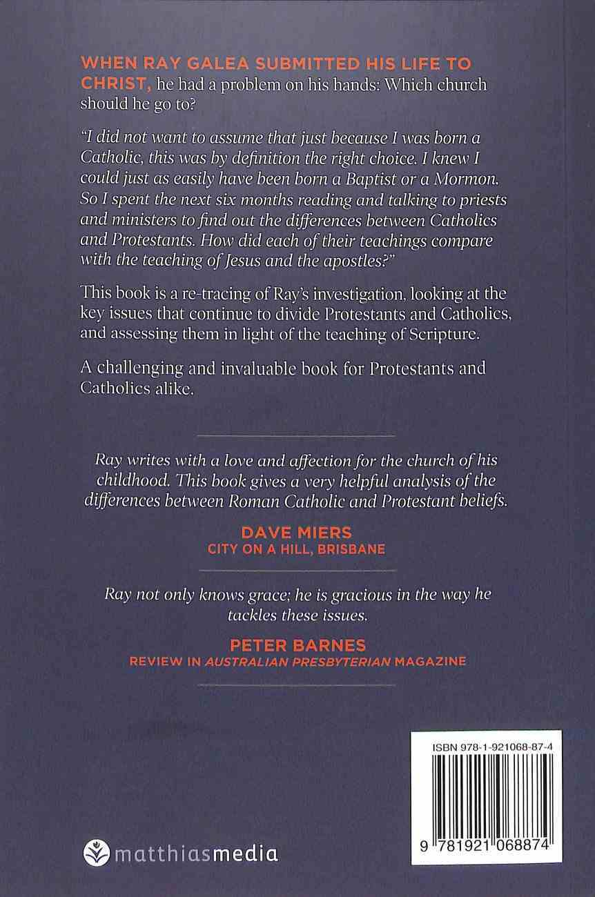 Nothing in My Hand I Bring: Understanding Differences Between Roman Catholic and Protestant Believers Paperback