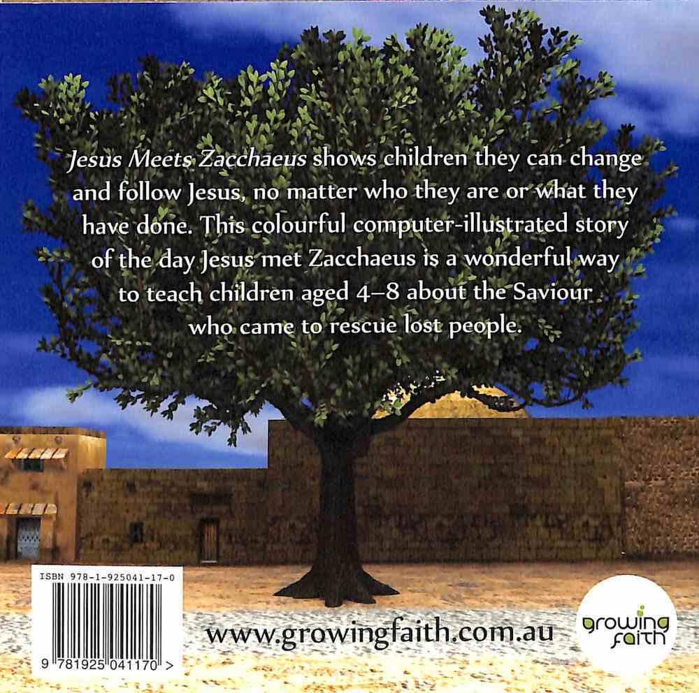 Jesus Meets Zacchaeus Paperback