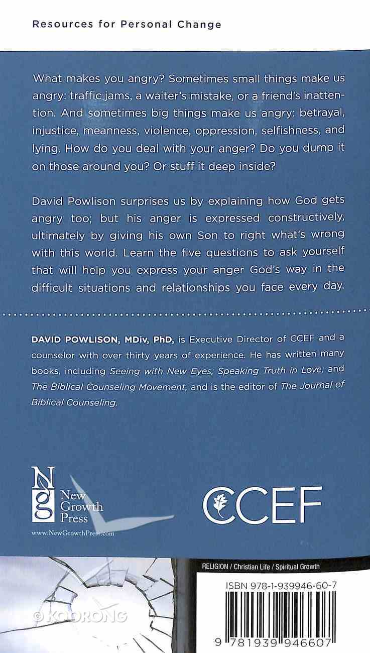 Controlling Anger: Responding Constructively When Life Goes Wrong (Personal Change Minibooks Series) Booklet