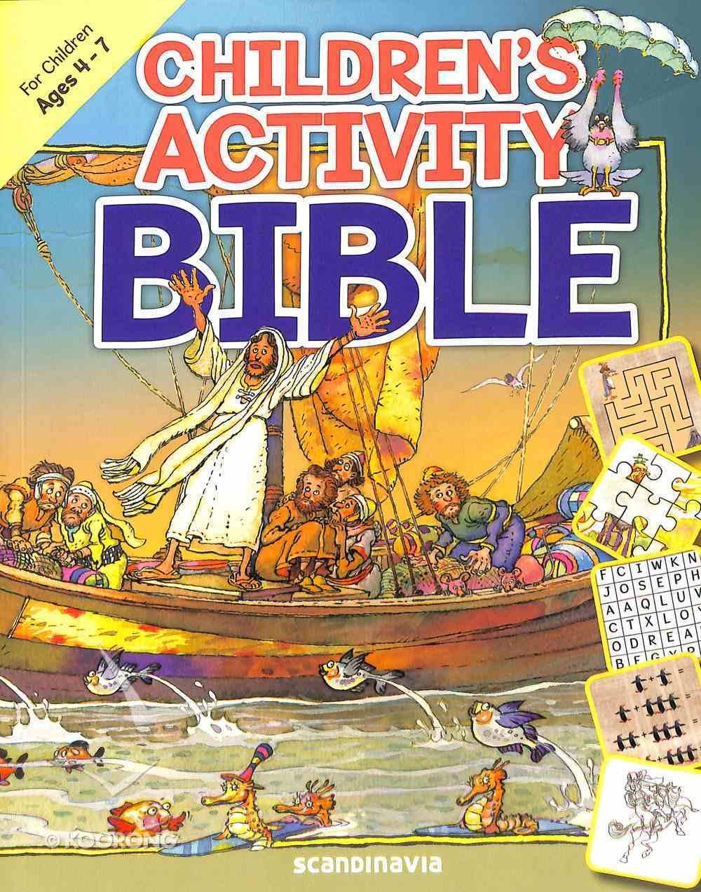 Children's Activity Bible (Ages 4-7) Paperback