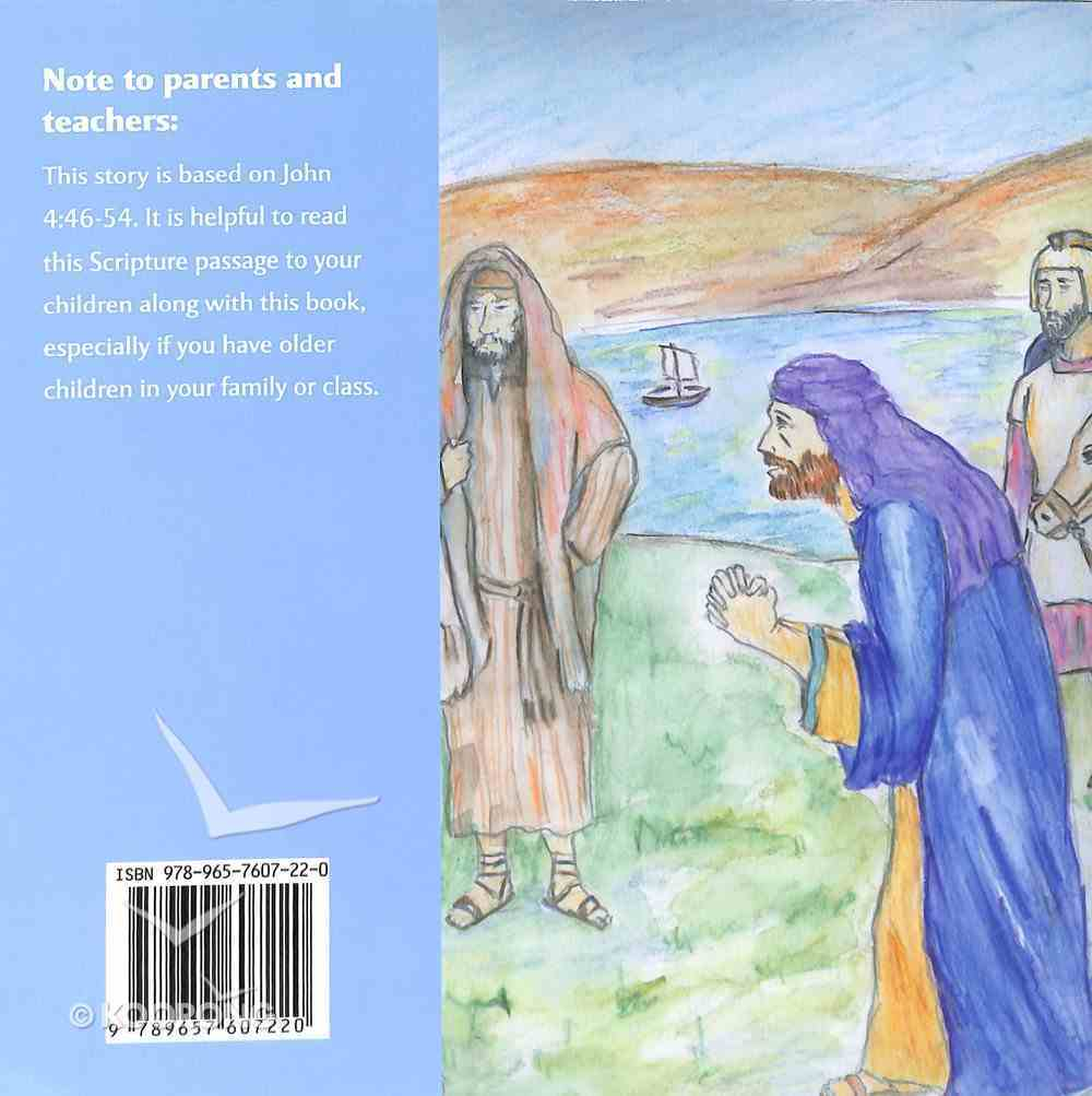 Jesus Heals a Little Boy: A Miracle in Capernaum Paperback