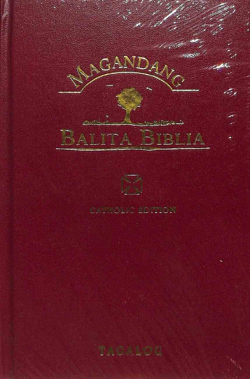 Tpv Magandang Balita Biblia Includes Deuterocanonical Books Black (Tagalog Popular Catholic Bible) Hardback