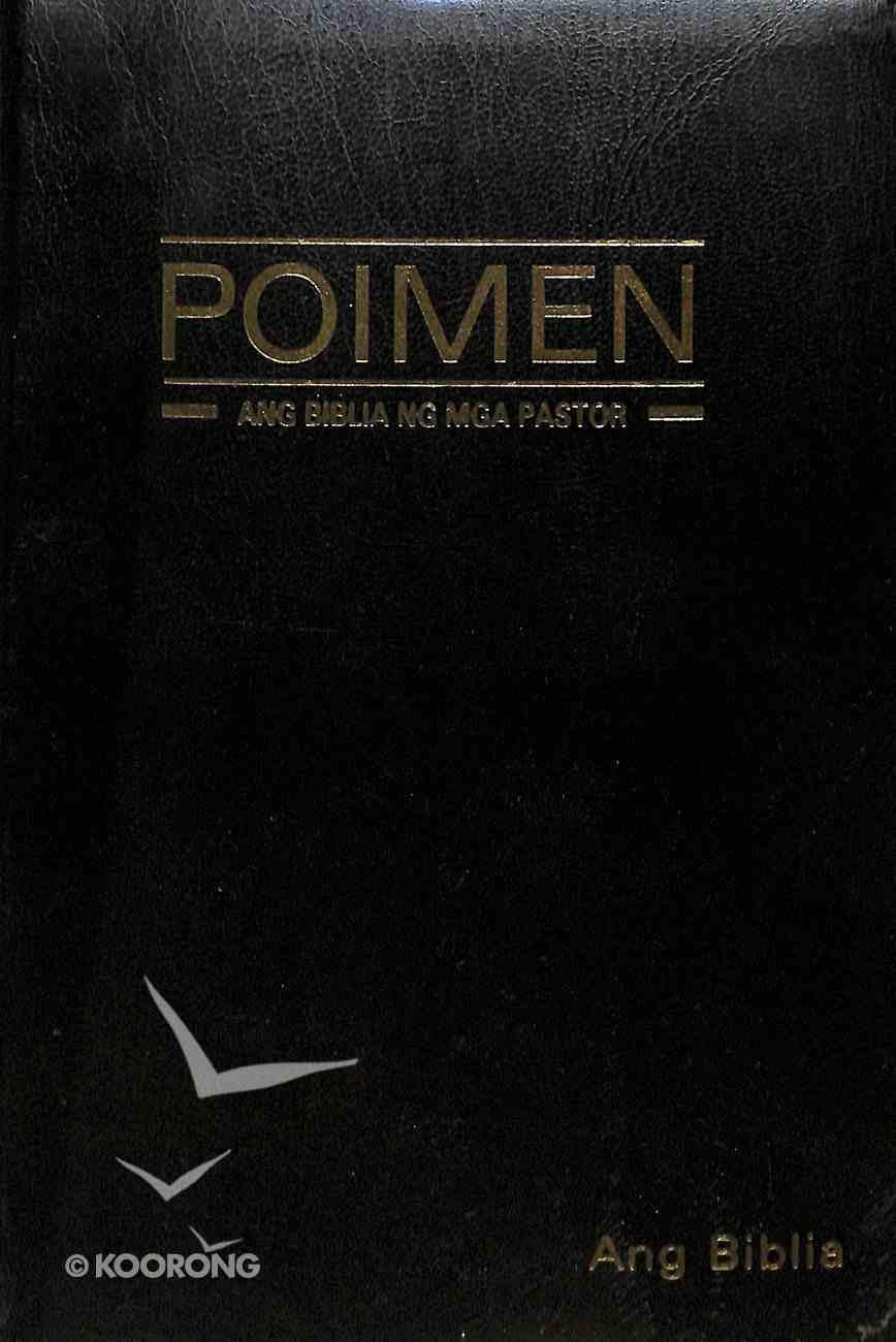 Tagalog Tpv Poimen: Ang Biblia Ng Mga Pastor Study Bible Black Imitation Leather