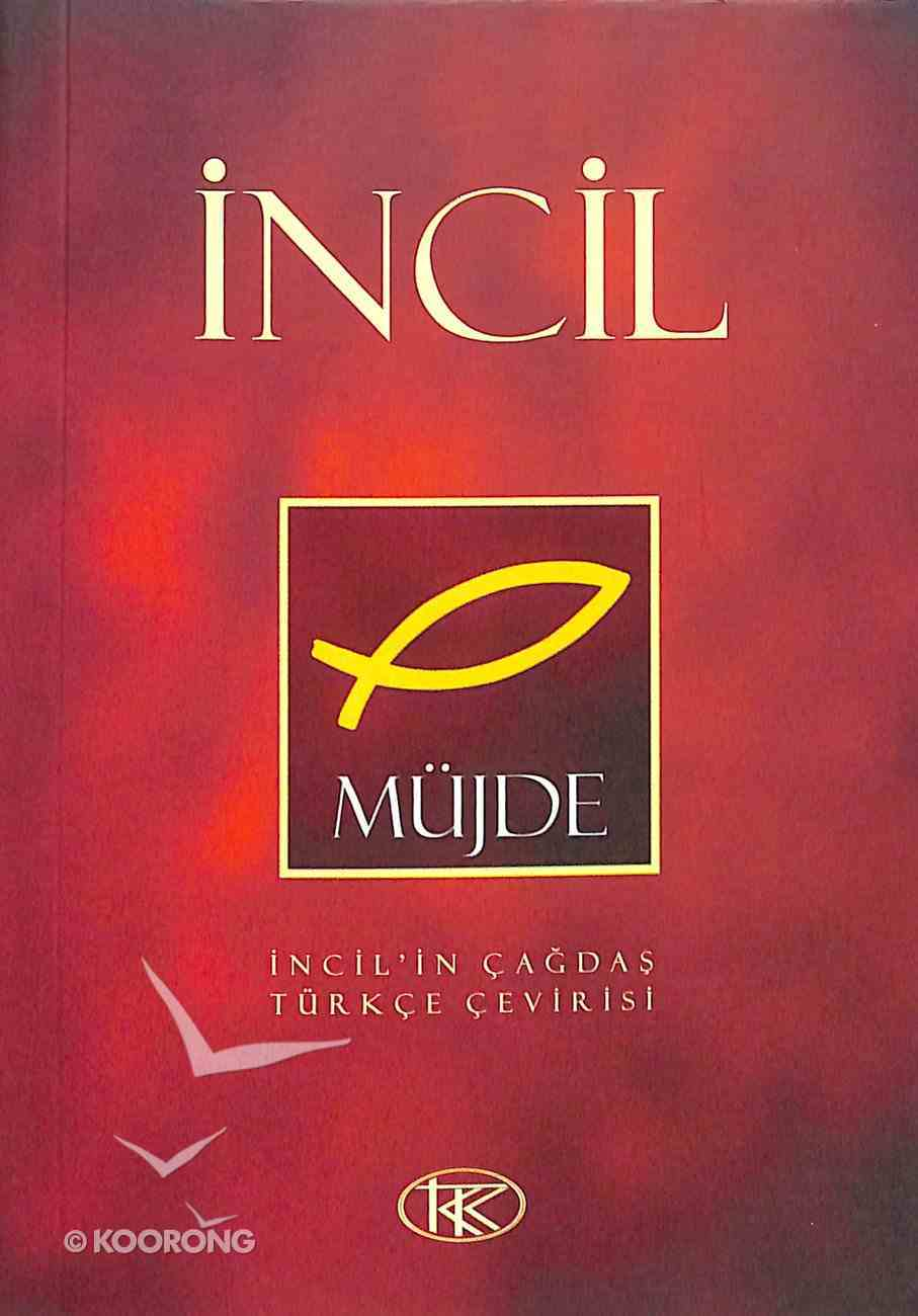 Turkish New Testament (Red) Paperback