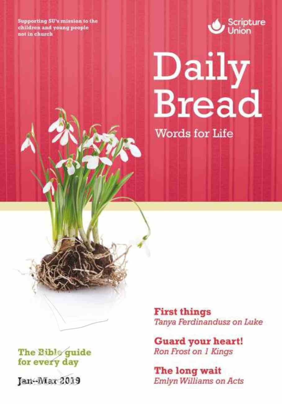 Daily Bread Adults 2019 #01: Jan-Mar Paperback
