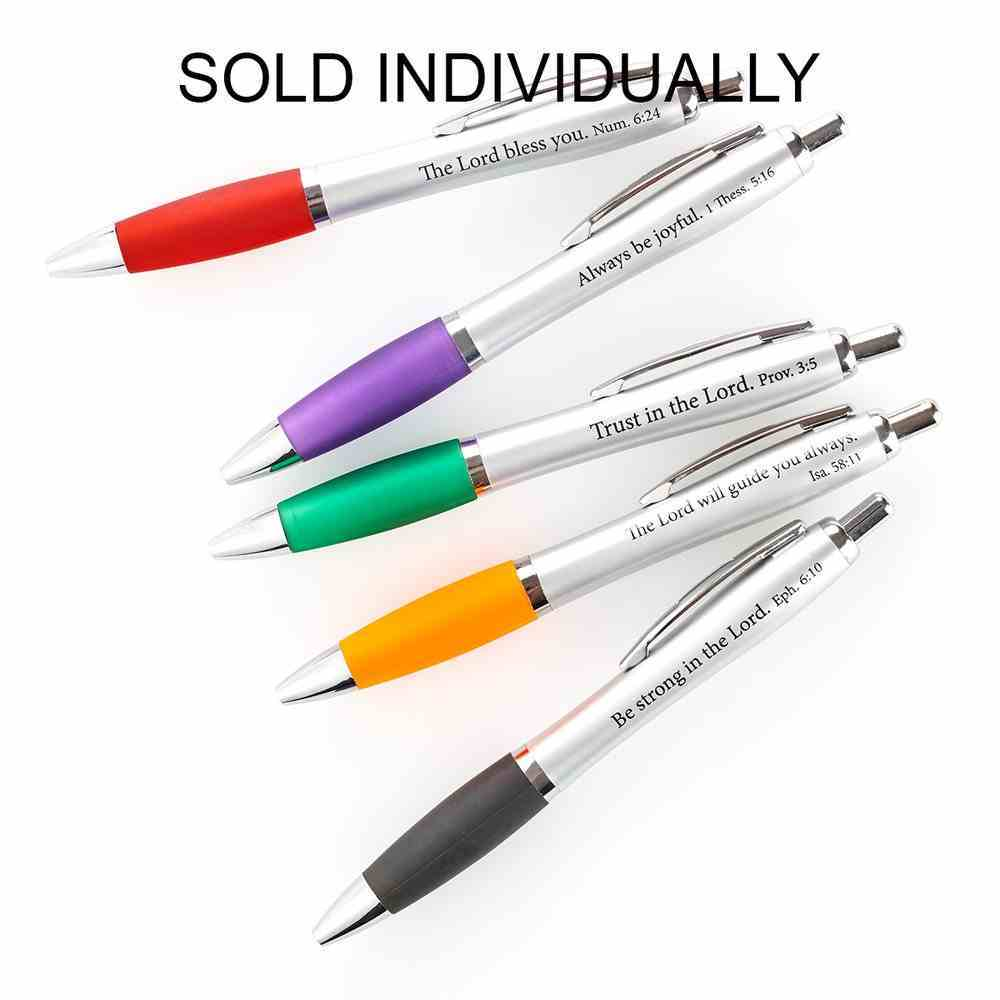 Ballpoint Pen, Assorted Scribblers With Scripture Stationery