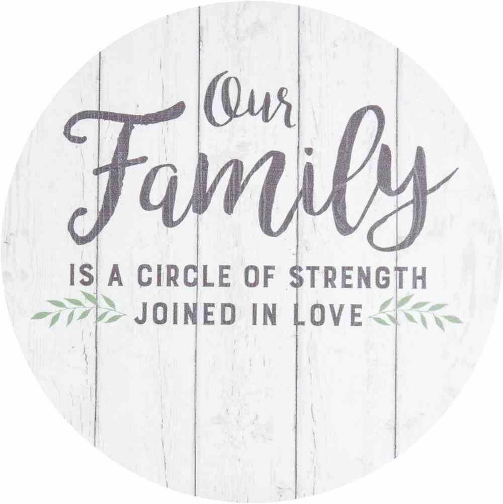 Circle Sign: Our Family Homeware