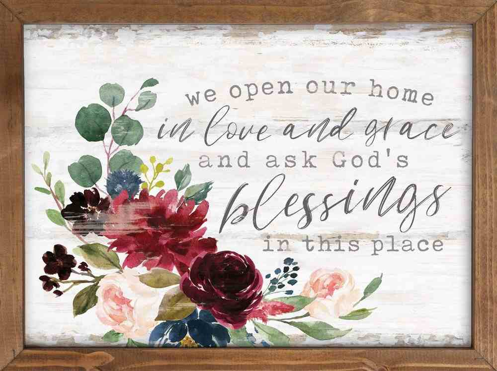 Wall Art: In Love and Grace Plaque