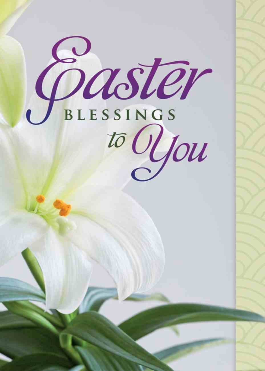 Boxed Cards: Easter - Easter Lilies Box