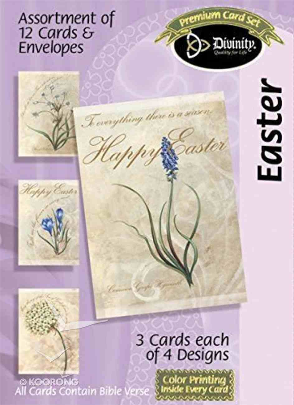 Easter Boxed Cards: Happy Easter Floral Box