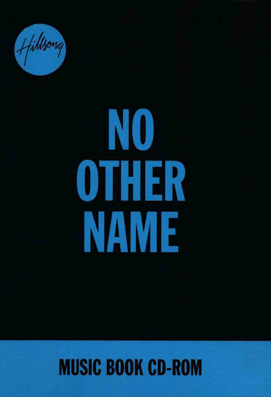 2014 No Other Name (Cd-rom Music Book) Paperback