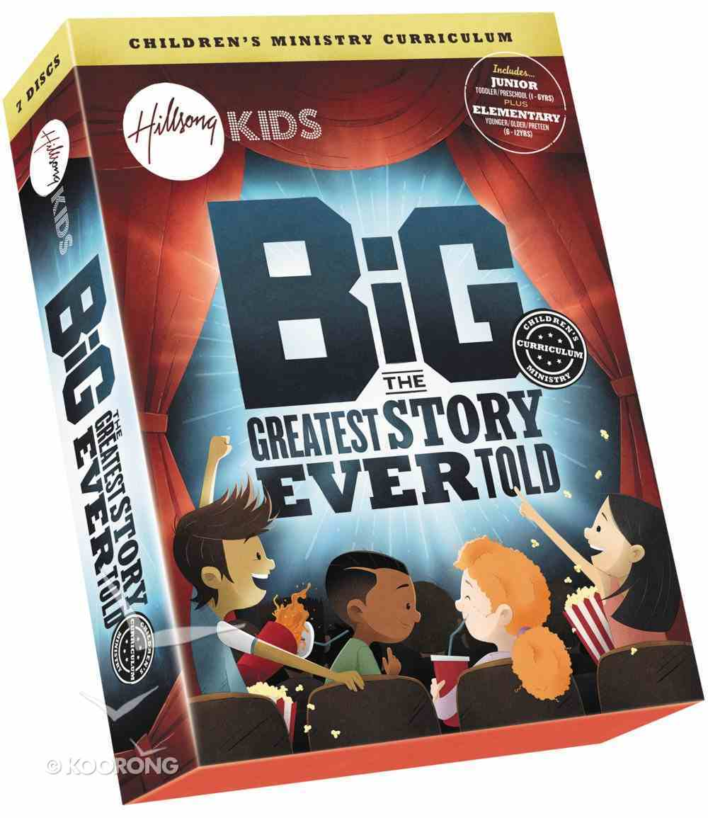 The Greatest Story Ever Told (9 Lessons) (Hillsong Kids Big Curriculum Series) Pack