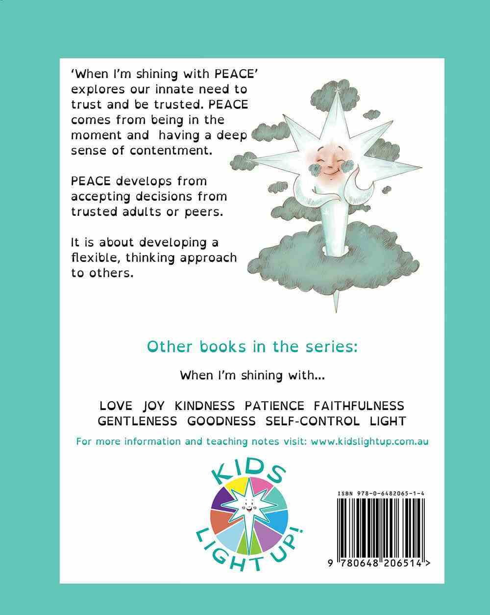 When I'm Shining With Peace (When I'm Shining With... Series) Paperback