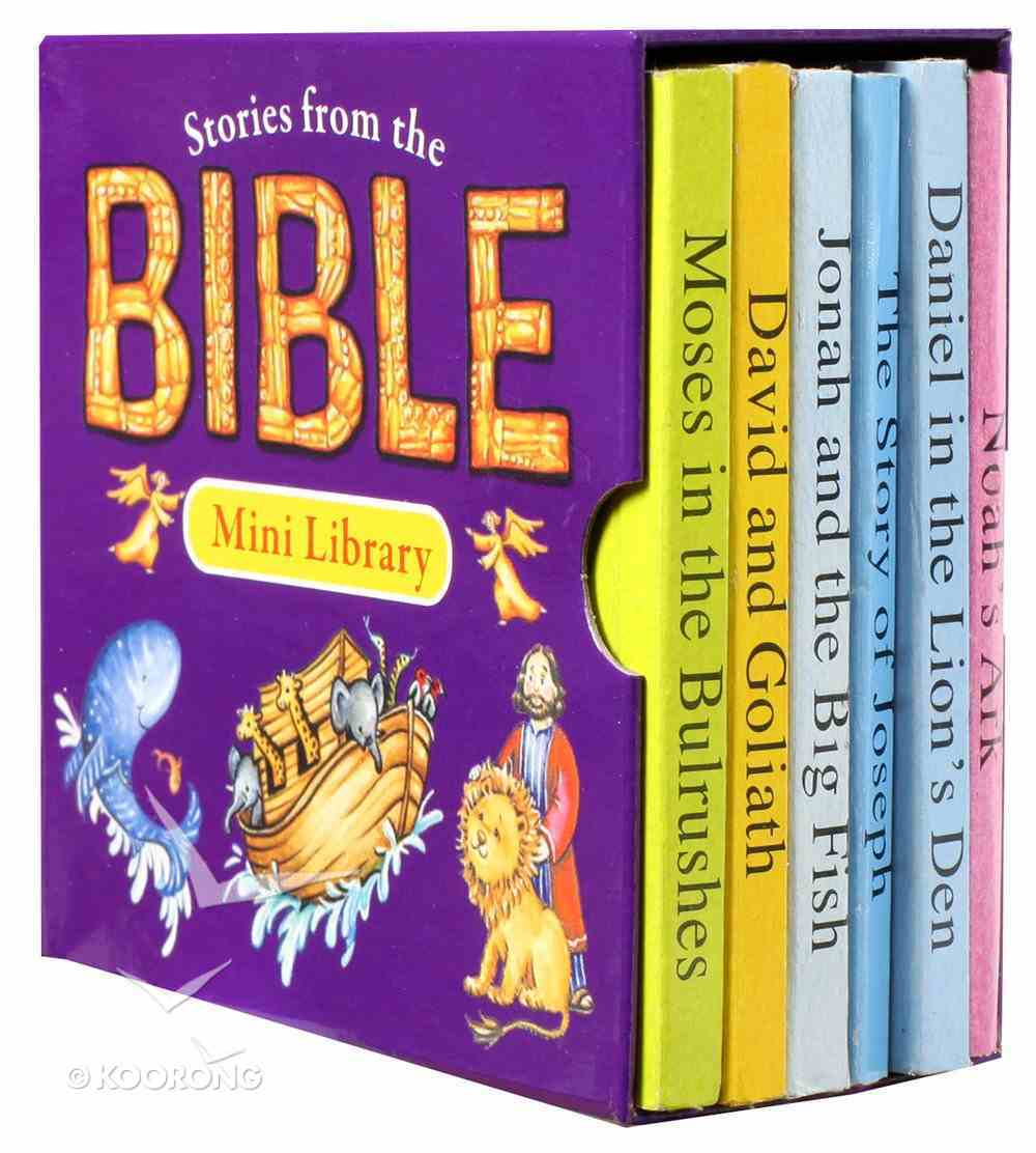 Stories From the Bible (Pack of 6) (Mini Library Series) Board Book