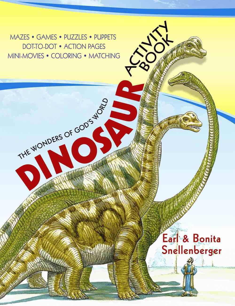 The Wonders of God's World: Dinosaur Activity Book Paperback