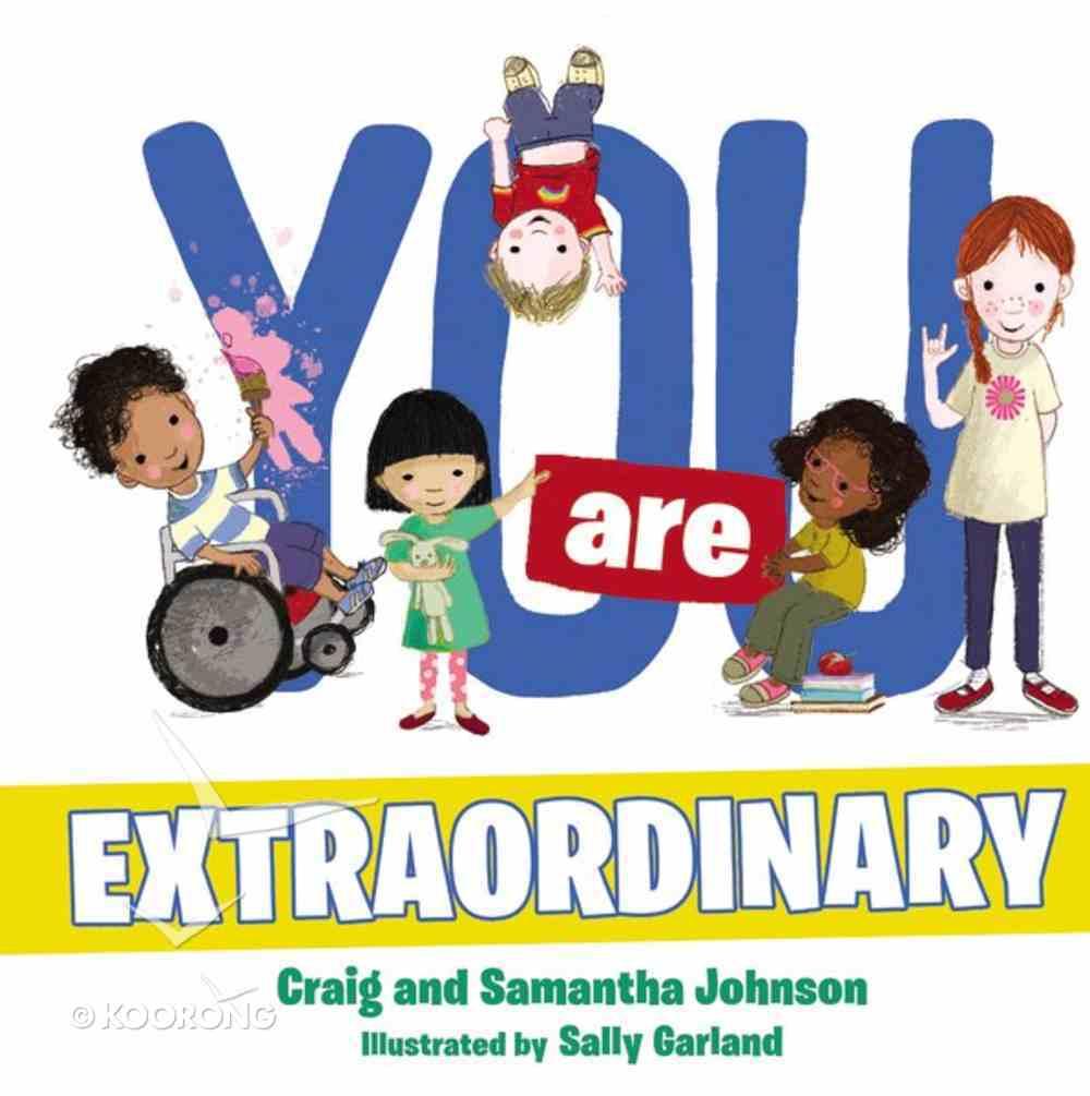 You Are Extraordinary Board Book