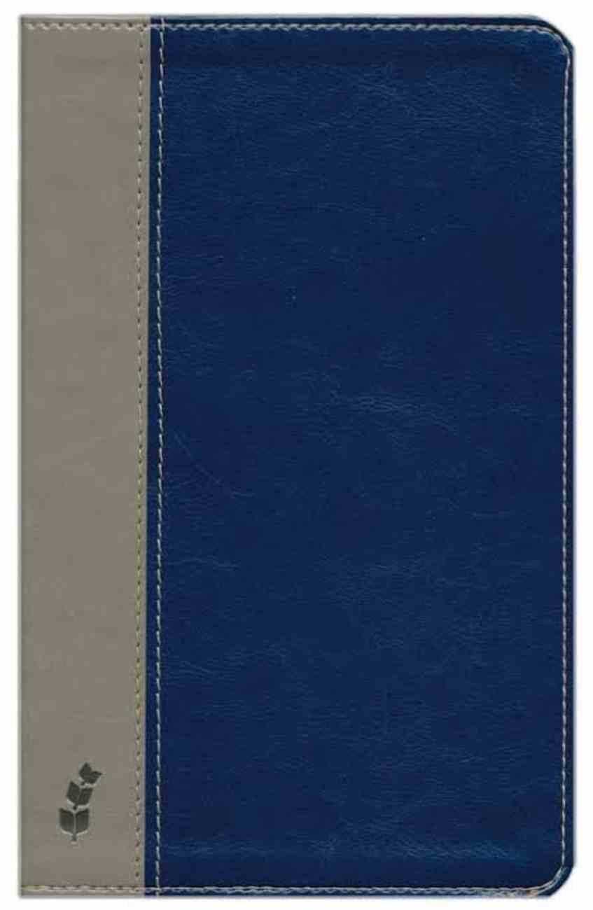 ERV Bible Deluxe Duotone Blue/Grey Imitation Leather