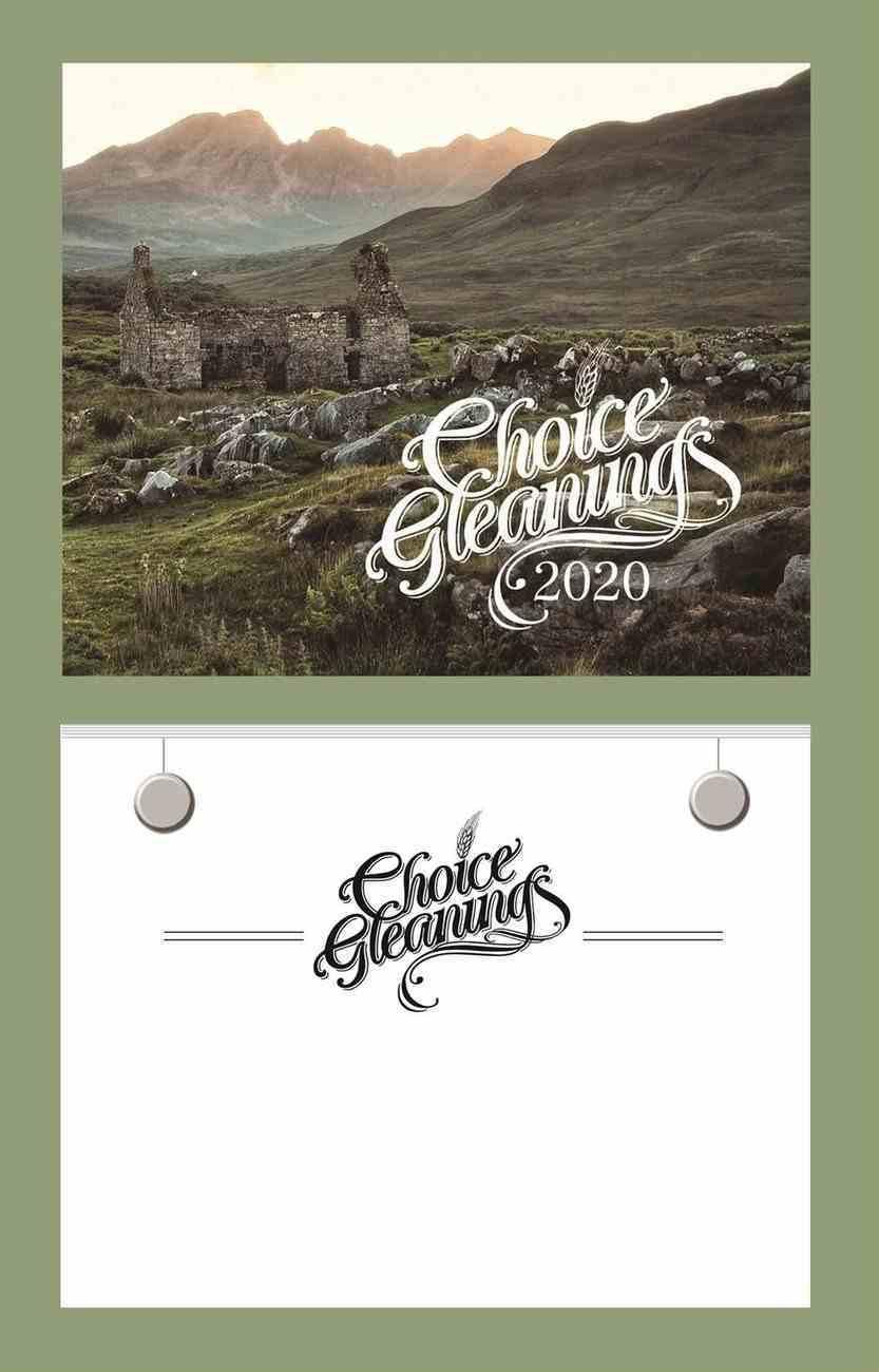 2020 Wall Calendar: Choice Gleanings Calendar