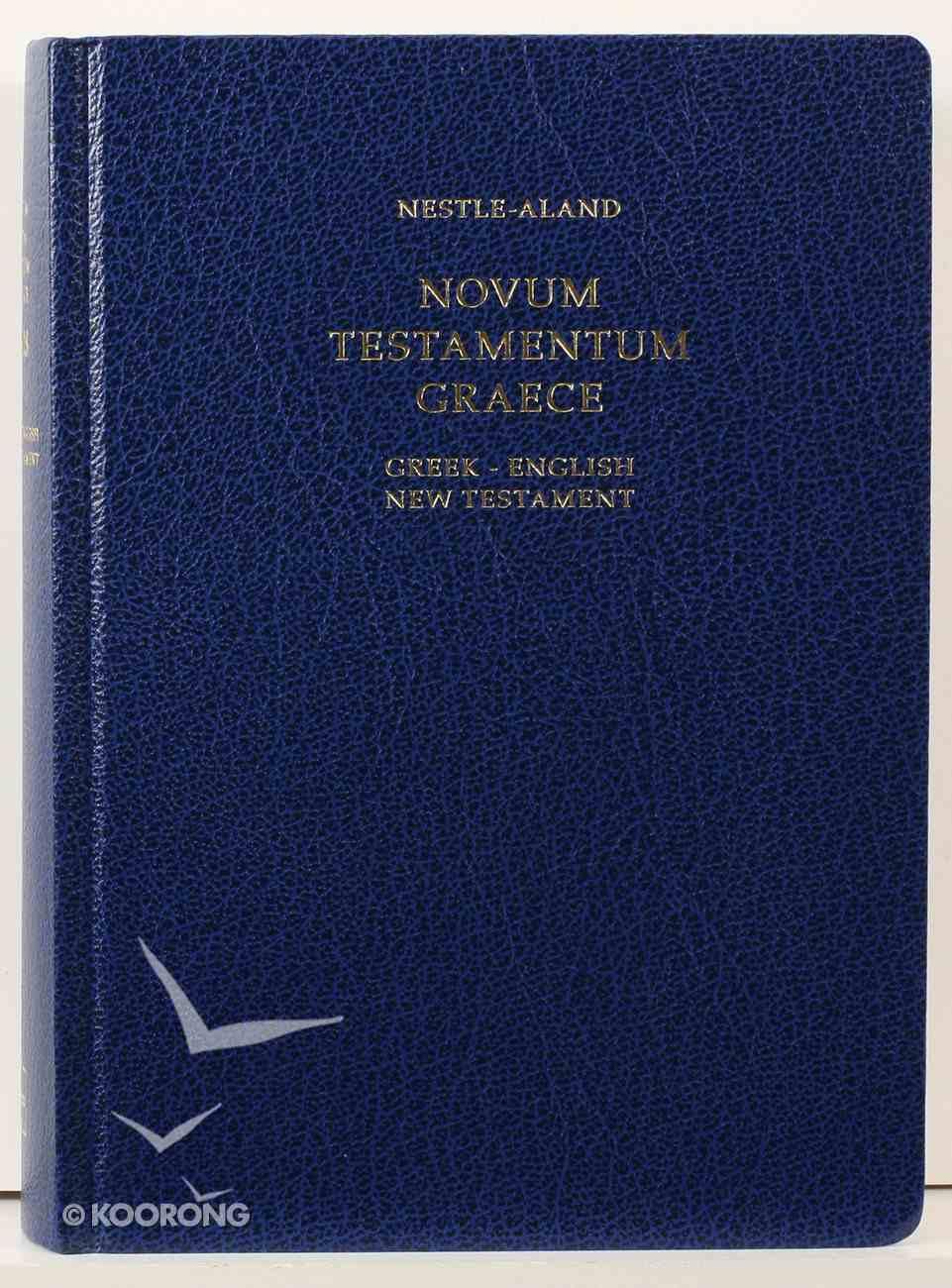 Nestle-Aland Novum Testamentum Graece Navy (28th Edition Greek-english New Testament Nrsb And Reb) Hardback