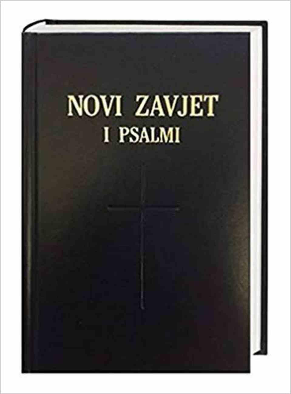 Croatian New Testament and Psalms Traditional Translation Imitation Leather