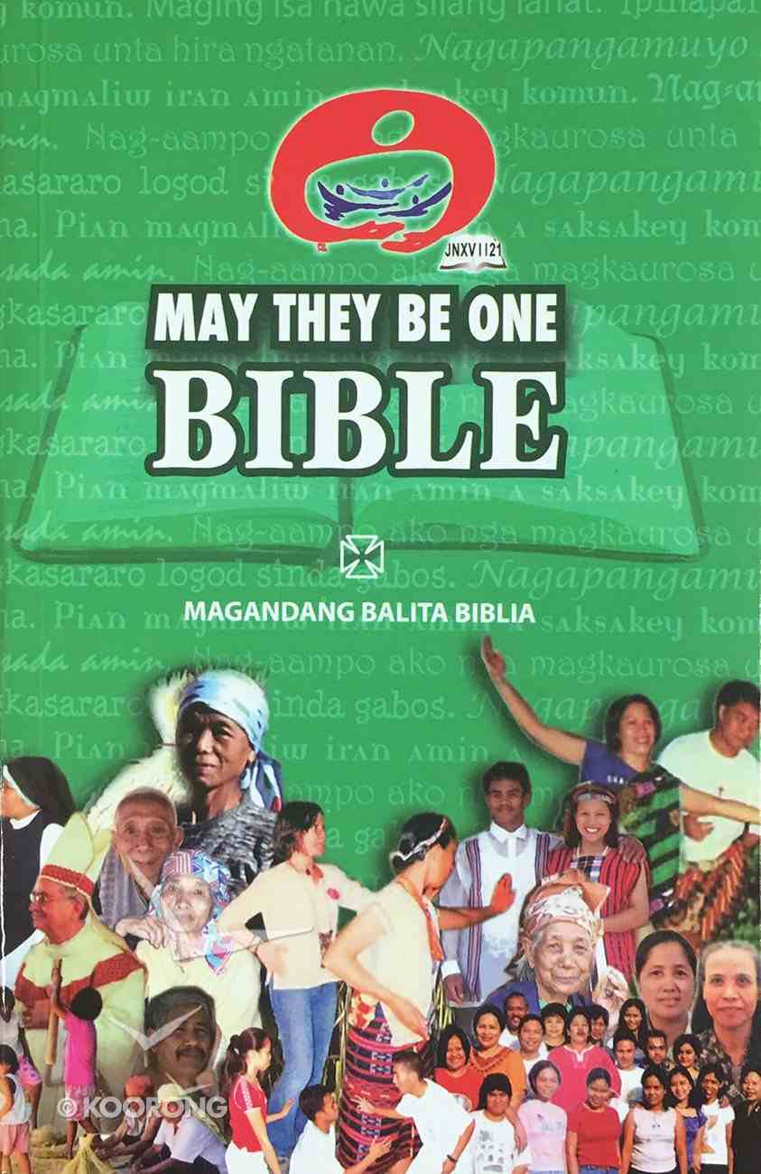 Tagalog May They Be One Philippines Bible Paperback