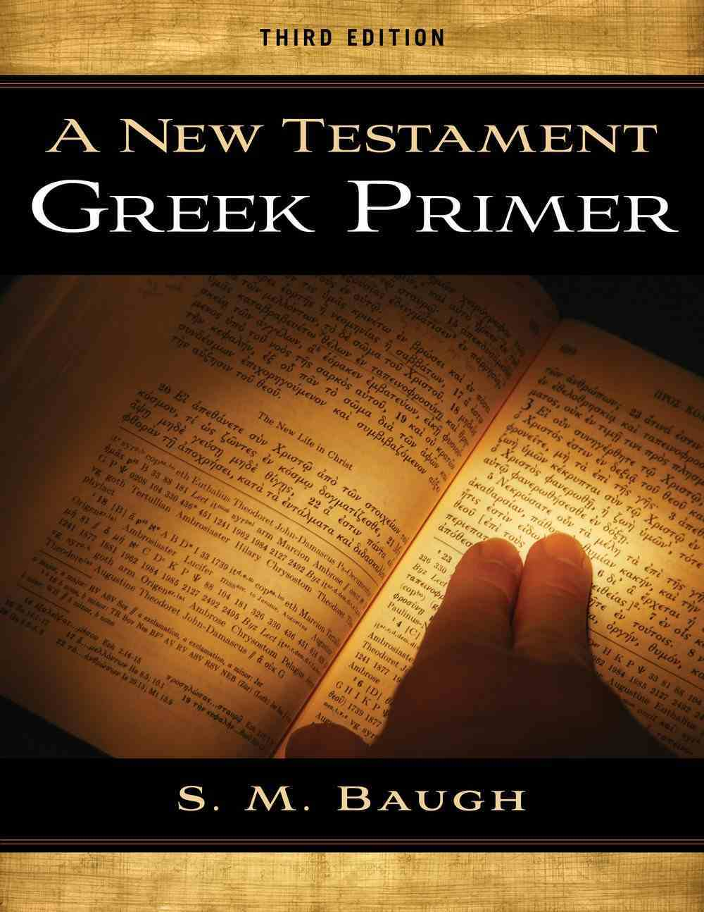New Testament Greek Primer (3rd Edition) Paperback