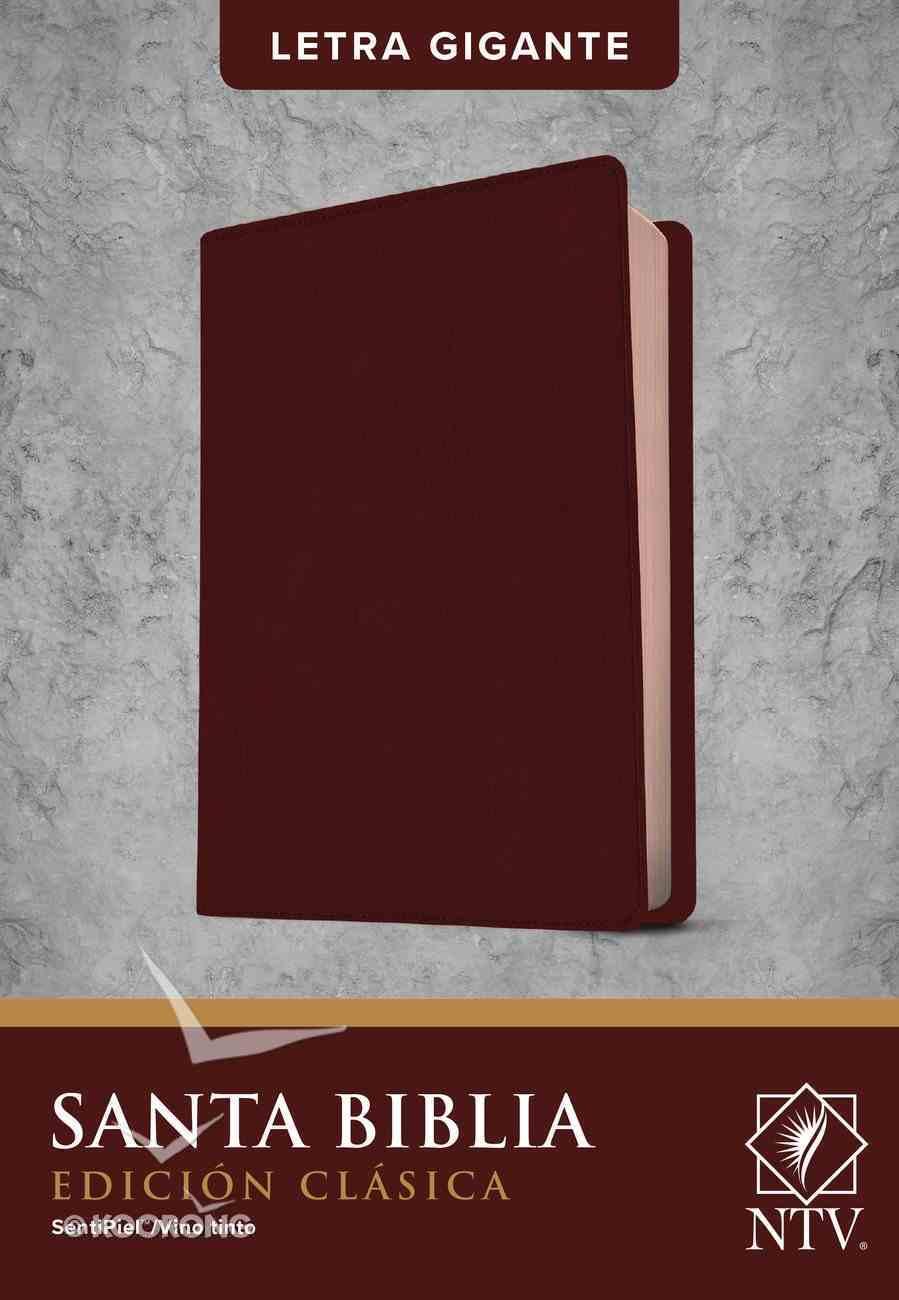 Ntv Santa Biblia Edicion Clasica Indexed (Red Letter Edition) Imitation Leather