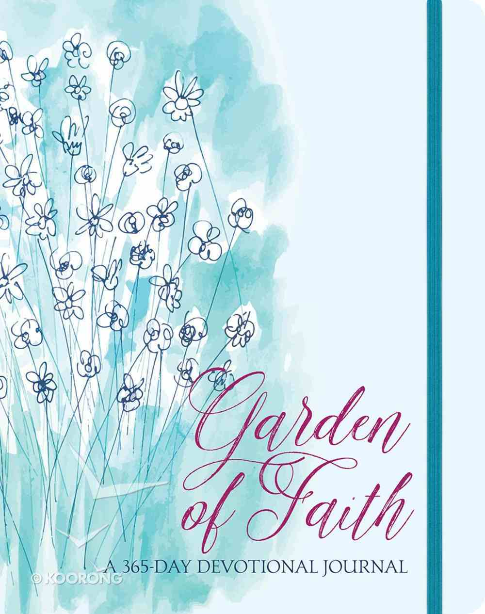 Garden of Faith: A 365-Day Devotional Journal Paperback