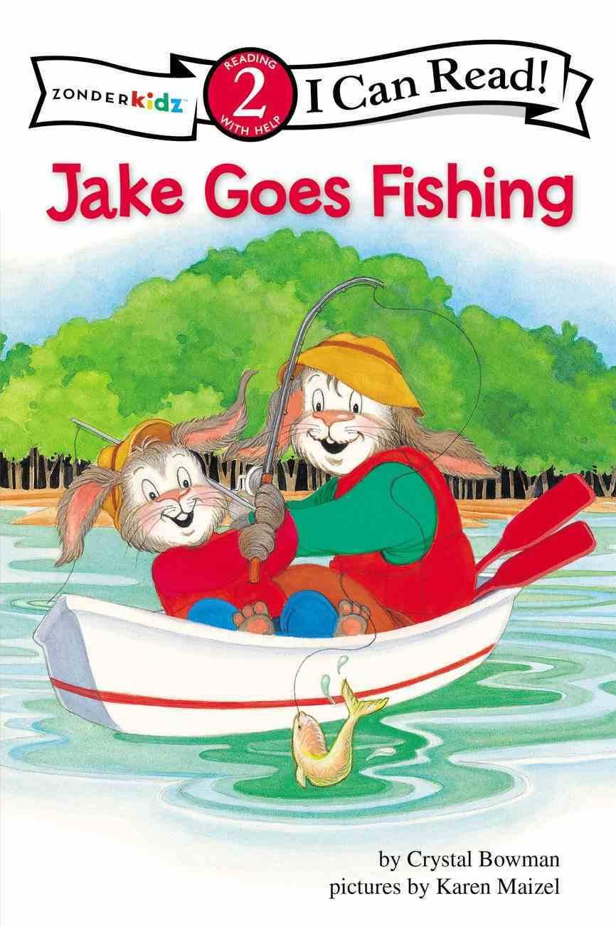 Jake Goes Fishing (I Can Read!2/jake Series) Paperback