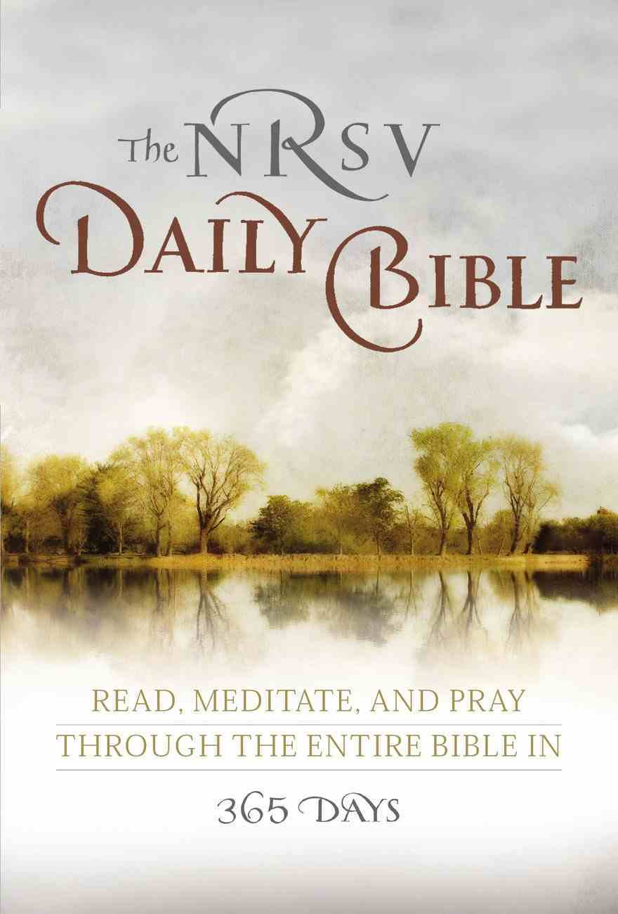 The NRSV Daily Contemplative Bible Paperback