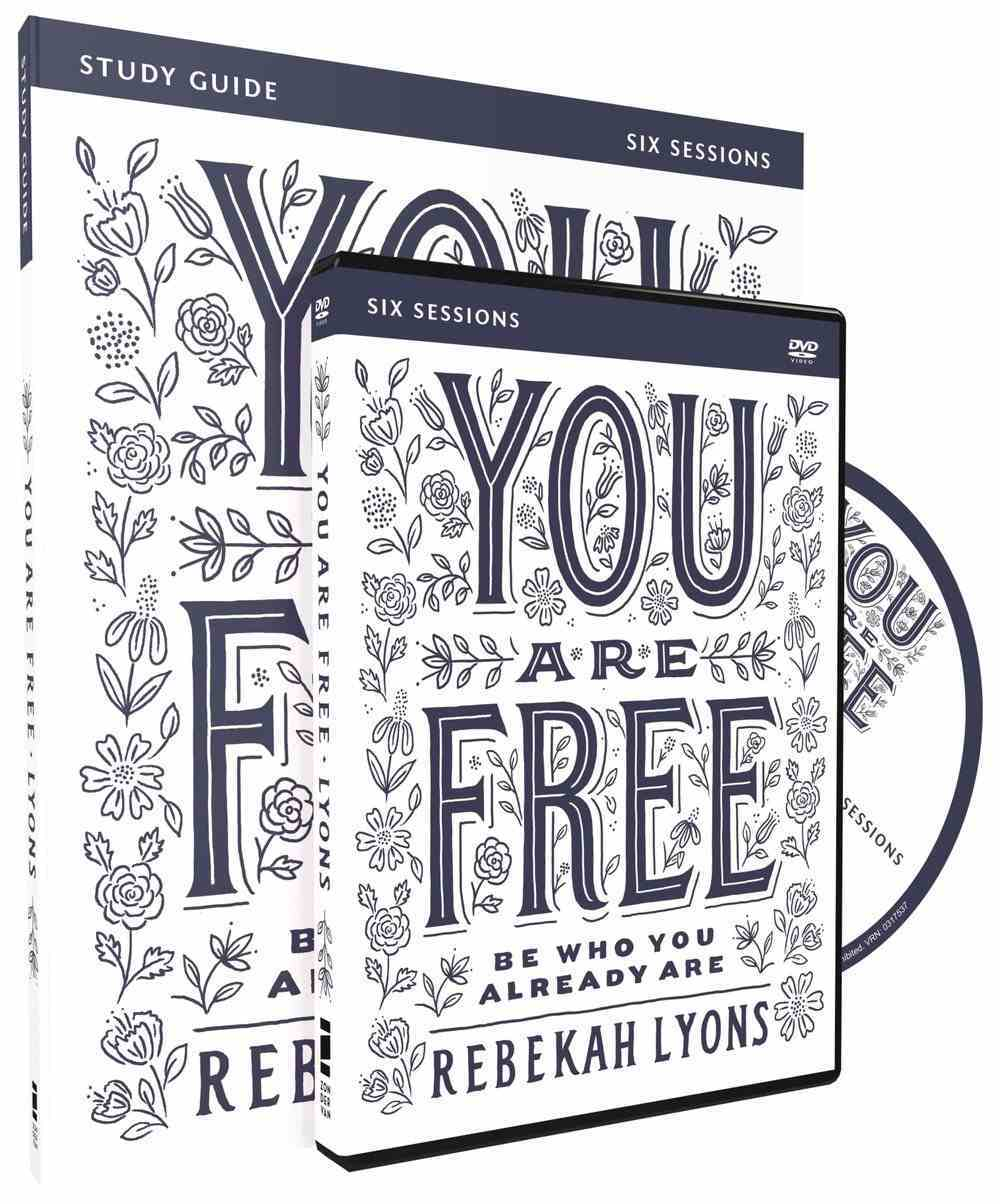 You Are Free (Study Guide With Dvd) Pack