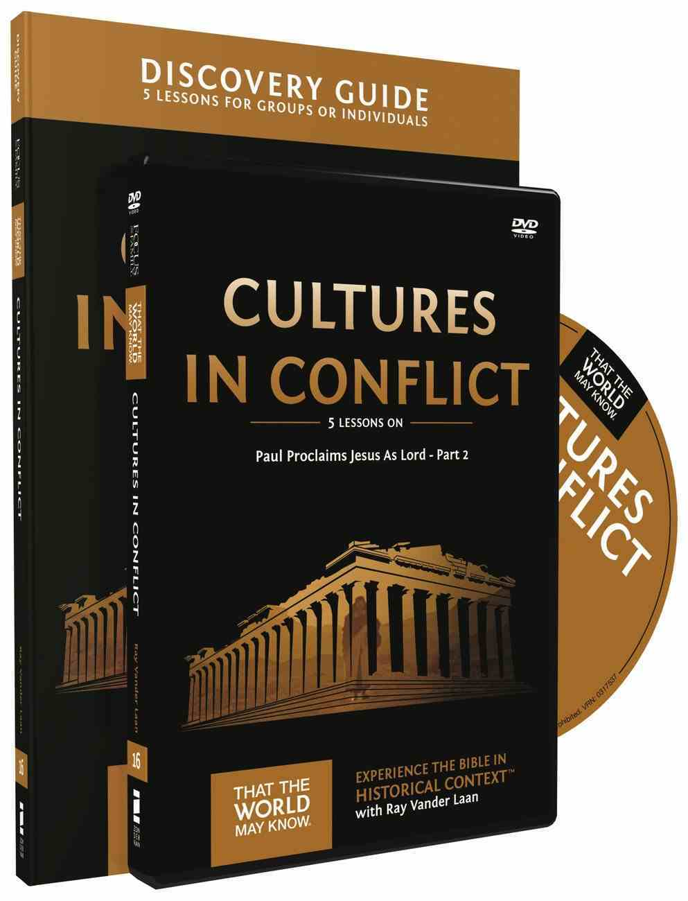 Cultures in Conflict : Paul Proclaims Jesus as Lord Part #02 (Discovery Guide With DVD) (That The World May Know Series) Paperback