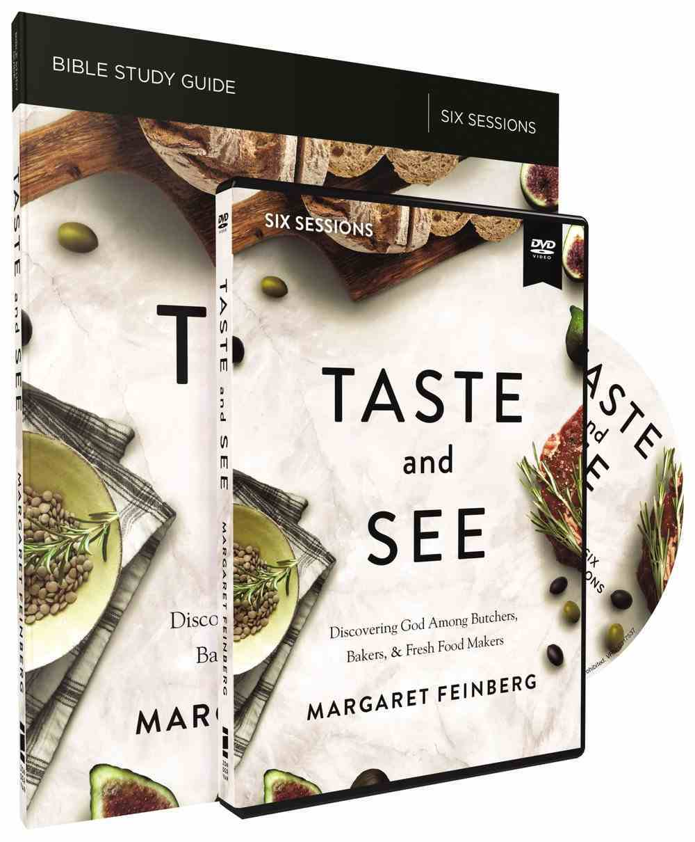 Taste and See: Savor God. Relish Friendship. Celebrate Life. 6 Sessions (Study Guide With Dvd) Pack