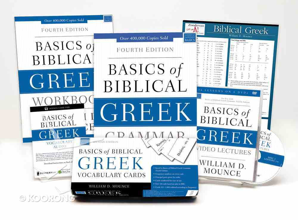 Learn Biblical Greek Pack 2.0: Includes Basics of Biblical Greek Grammar, Fourth Edition and Its Supporting Resources Pack