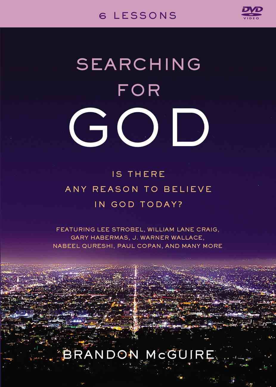 Searching For God: Is There Any Reason to Believe in God Today? (Dvd) DVD