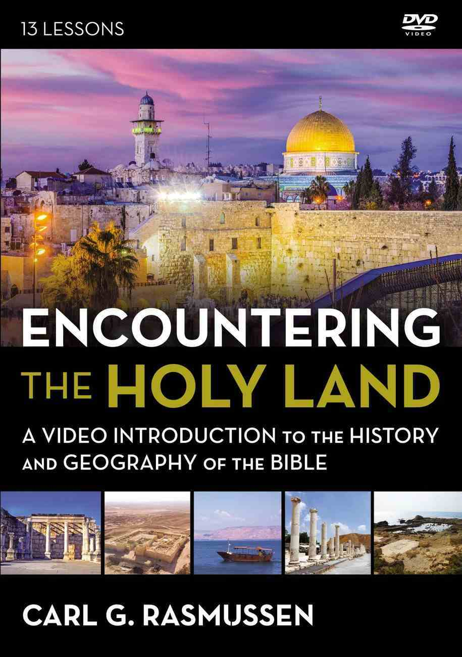 Encountering the Holy Land : A Video Introduction to the History and Geography of the Bible (Video Study) (Zondervan Beyond The Basics Video Series) DVD