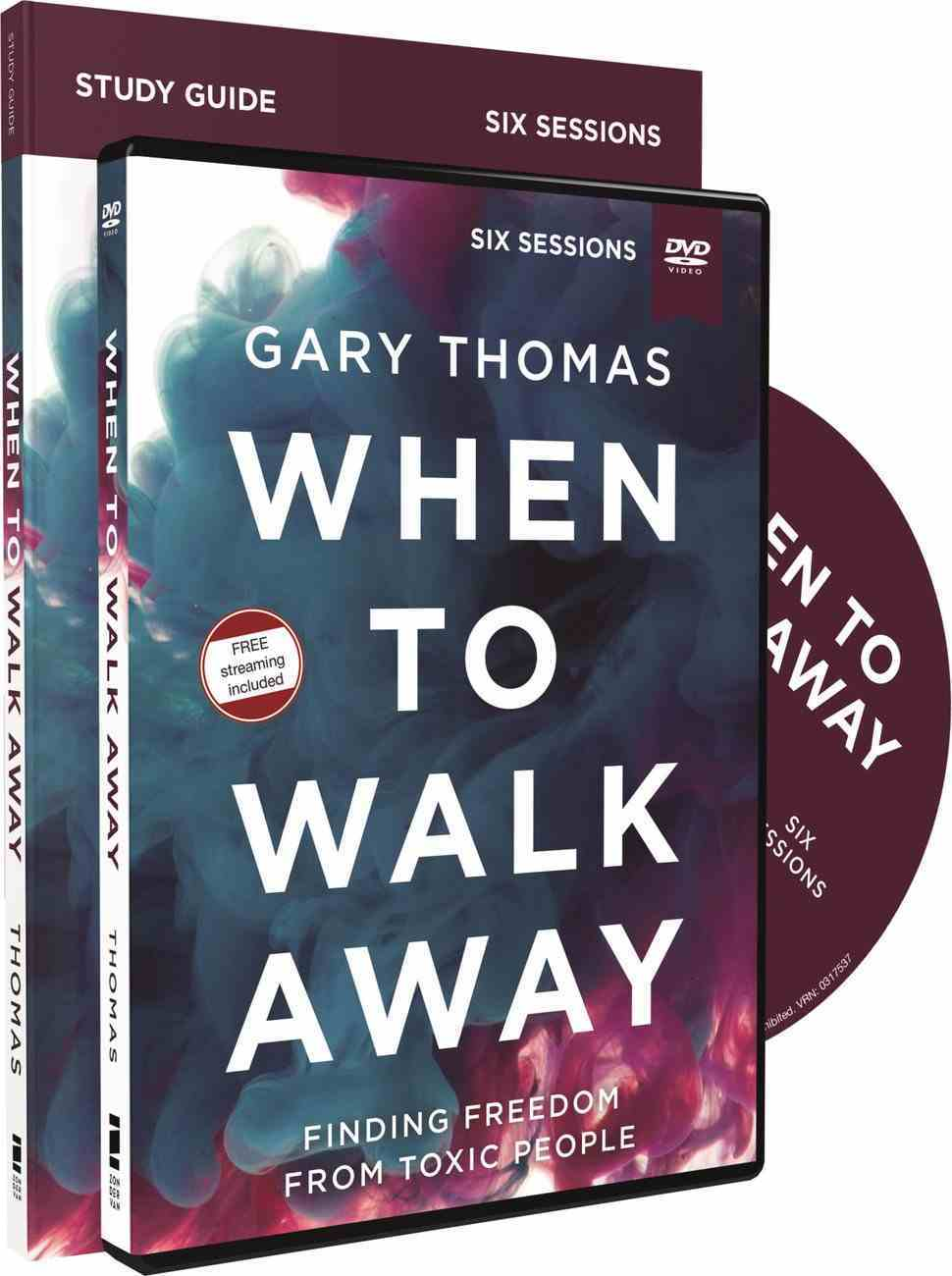 When to Walk Away: Finding Freedom From Toxic People (Study Guide With Dvd) Pack