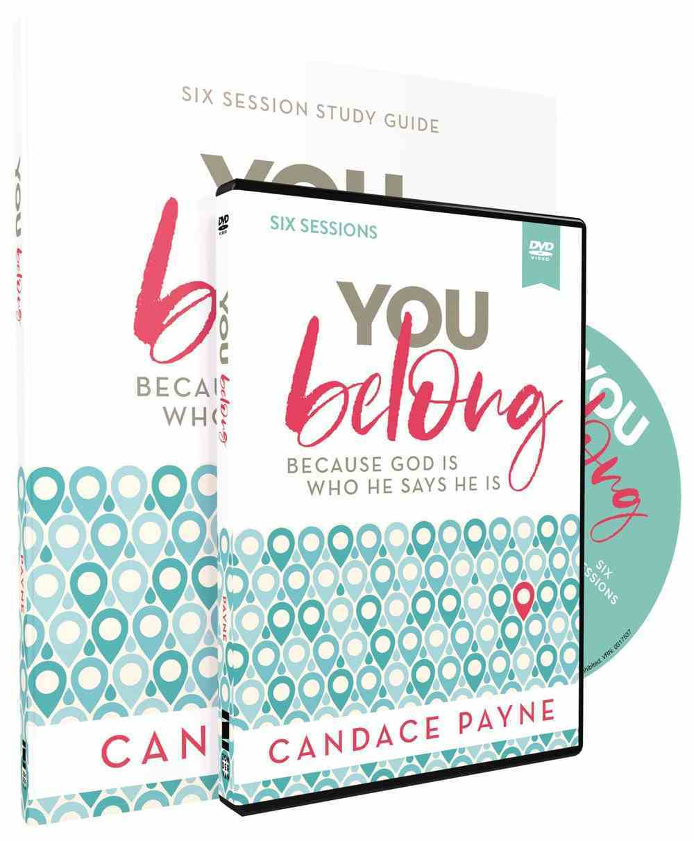 You Belong: Your Joy Depends on It (Study Guide And Dvd) Pack